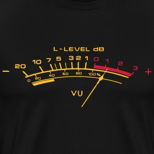 vu meter - Men's Premium T-Shirt