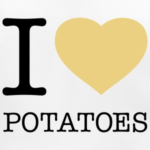 I LOVE POTATOES - Bavoir bio Bébé