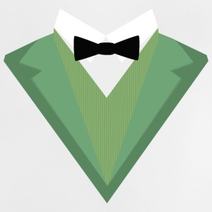 Green Tuxedo suit with a bow tie S3qgb Baby Shirts  - Baby T-Shirt