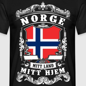 Norge - Norge - Norge T-shirts - T-shirt herr