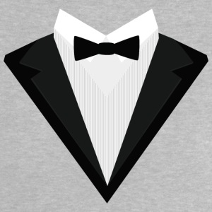 Black Tuxedo with white bow tie S946n Baby Shirts  - Baby T-Shirt