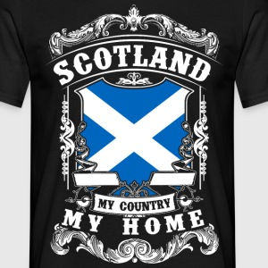 Scotland - My country - My home T-shirts - T-shirt herr