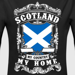 Scotland - My country - My home Baby body - Baby bio-rompertje met lange mouwen
