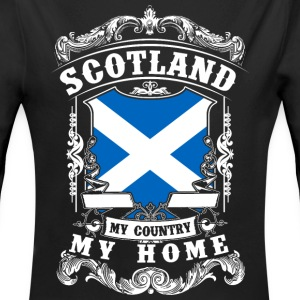 Scotland - My country - My home Baby Bodysuits - Longlseeve Baby Bodysuit