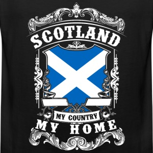 Scotland - My country - My home Vêtements de sport - Débardeur Premium Homme