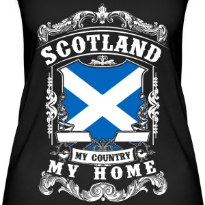 Scotland - My country - My home Tops - Camiseta de tirantes orgánica mujer