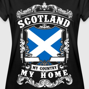 Scotland - My country - My home T-skjorter - Oversize T-skjorte for kvinner