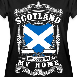 Scotland - My country - My home T-shirts - Vrouwen oversize T-shirt