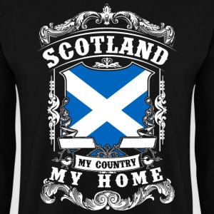 Scotland - My country - My home Hoodies & Sweatshirts - Men's Sweatshirt