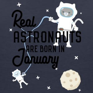 Astronauts are born in January. S09e7 T-Shirts - Women's V-Neck T-Shirt