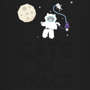 Chats dans l'espace S268b Tee shirts manches longues Bébés - T-shirt manches longues Bébé