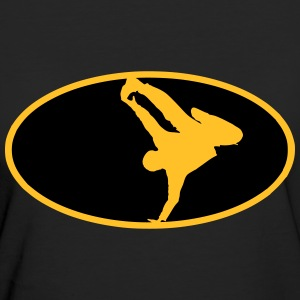 Breakdance Logo T-Shirts - Frauen Bio-T-Shirt