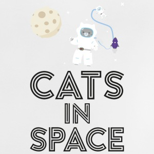 Cats in outer space S268b Baby Shirts  - Baby T-Shirt
