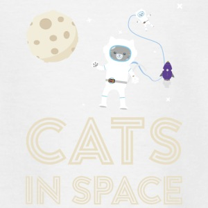 Cats in outer space Stfb7 Shirts - Kids' T-Shirt