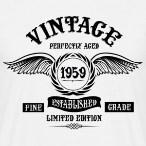 Vintage Perfectly Aged 1959 T-Shirts - Men's T-Shirt