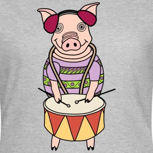 drummer pig