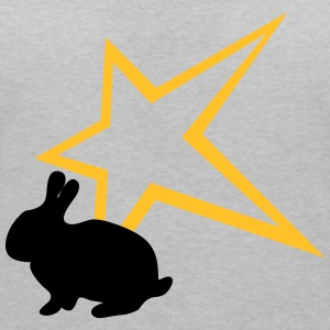 Freaky lapin star T-Shirts - T-shirt col V Femme