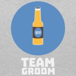 Team groom Stagparty S8h55 T-Shirts - Women's V-Neck T-Shirt