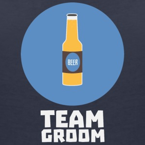Team bruidegom Stagparty S8h55 T-shirts - Vrouwen T-shirt met V-hals