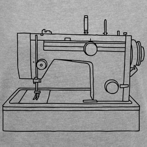 sewing machine  T-Shirts - Women's T-shirt with rolled up sleeves