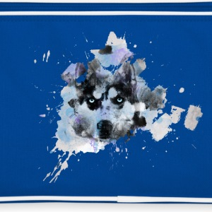Watercolor Husky Retro Tasche - Retro Tasche