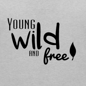 Young, wild and free Tee shirts - T-shirt col V Femme