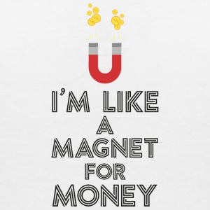 As a magnet for money Sb07v T-Shirts - Women's V-Neck T-Shirt