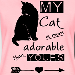 My Cat - more adorable than yours T-Shirts - Women's Premium T-Shirt