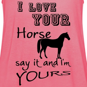 I love your Horse Tops - Women's Tank Top by Bella