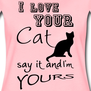 I love your Cat T-Shirts - Women's Premium T-Shirt