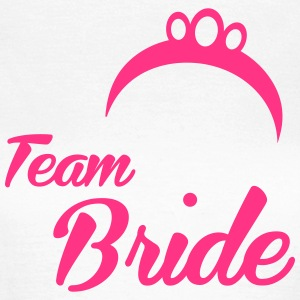Team Bride Crown - Frauen T-Shirt