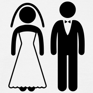 Bride and Groom - Männer T-Shirt