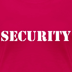 Security Tee shirts - T-shirt Premium Femme