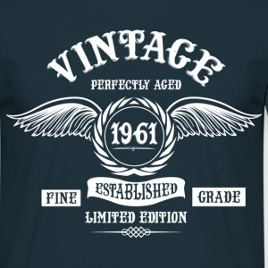 Vintage Perfectly Aged 1961 T-Shirts - Men's T-Shirt