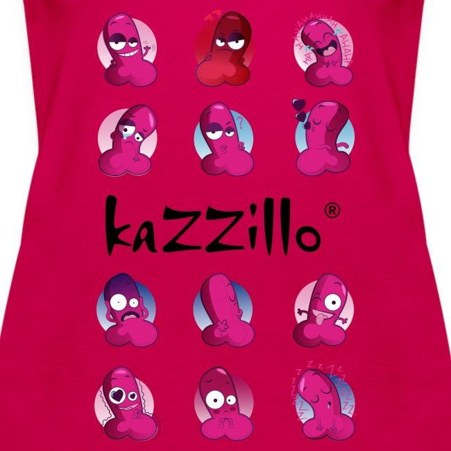 kazzillo emoticon e logo Top