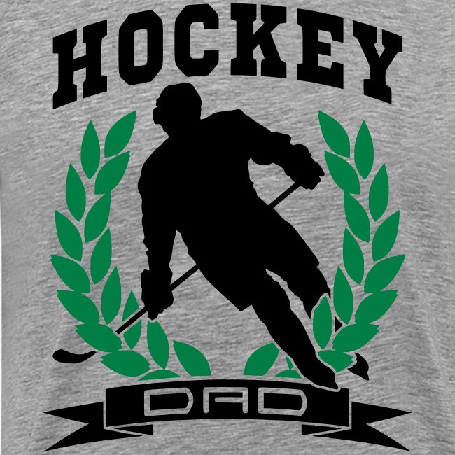 Hockey Dad Premium T-Shirt