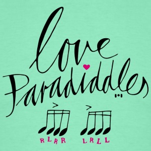 ...love paradiddles - Männer T-Shirt