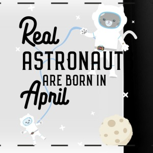 Astronauts were born in April. Sg6v6 design Mugs & Drinkware - Full Color Panoramic Mug