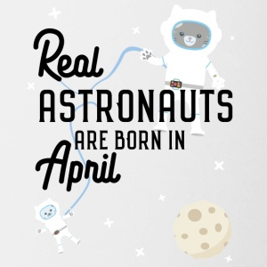 Astronauts were born in April. Sg6v6 design Mugs & Drinkware - Mug