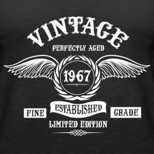 Vintage Perfectly Aged 1967 Tops - Women's Premium Tank Top