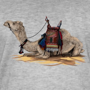 camel Tee shirts - T-shirt vintage Homme