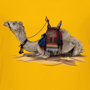camel T-shirts - Teenager premium T-shirt