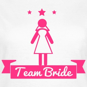 Team bride Wedding Bridesmaids Stag Hen night do - Women's T-Shirt