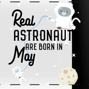 Astronauts are born in May. S3lhy design Mugs & Drinkware - Full Color Panoramic Mug