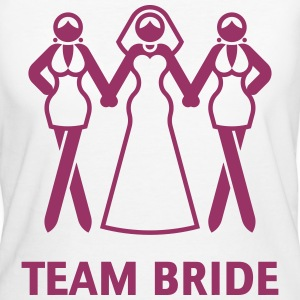 Team Bride (Hen Night, Bachelorette Party) T-Shirts - Women's Organic T-shirt