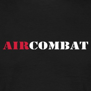 Sort air combat T-shirts - Herre-T-shirt