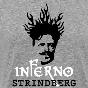Inferno Strindberg Poetry Ed. - Men's Premium T-Shirt