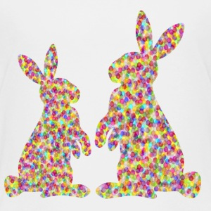 two easter bunnyies Shirts - Kids' Premium T-Shirt