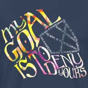 Hockey Goalie Quote T-Shirts - Men's Premium T-Shirt