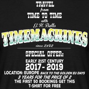 Timemachine Promoshirt for Black Shirts EU Edition T-Shirts - Männer T-Shirt